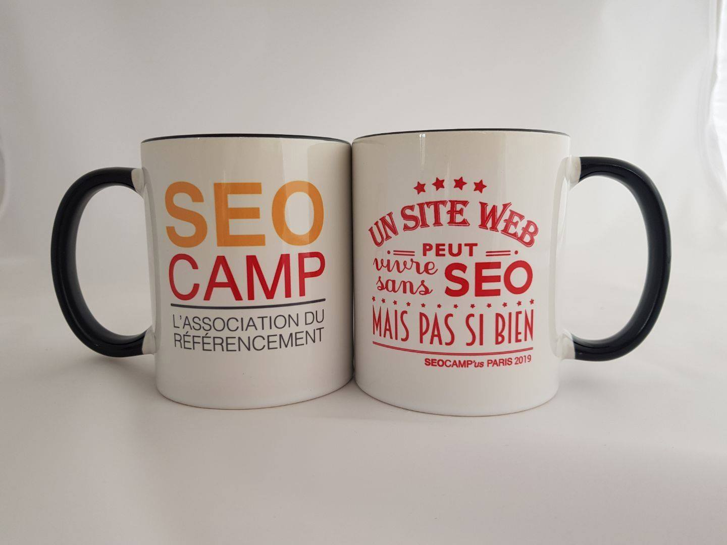 mugs SEO Campus Paris 2019
